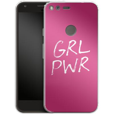 Google Pixel Silikon Handyhuelle - GRLPWR von caseable Designs