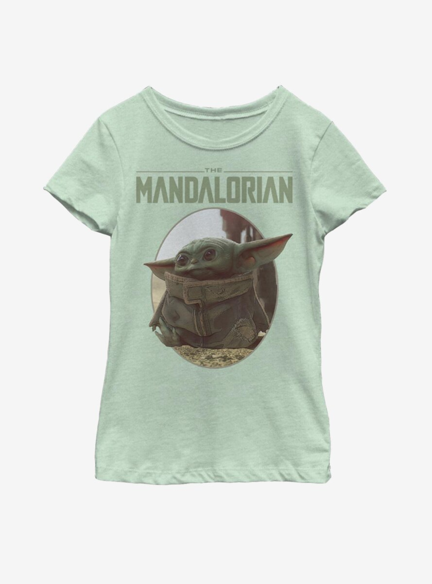 Star Wars The Mandalorian The Child Cute Look Youth Girls T-Shirt