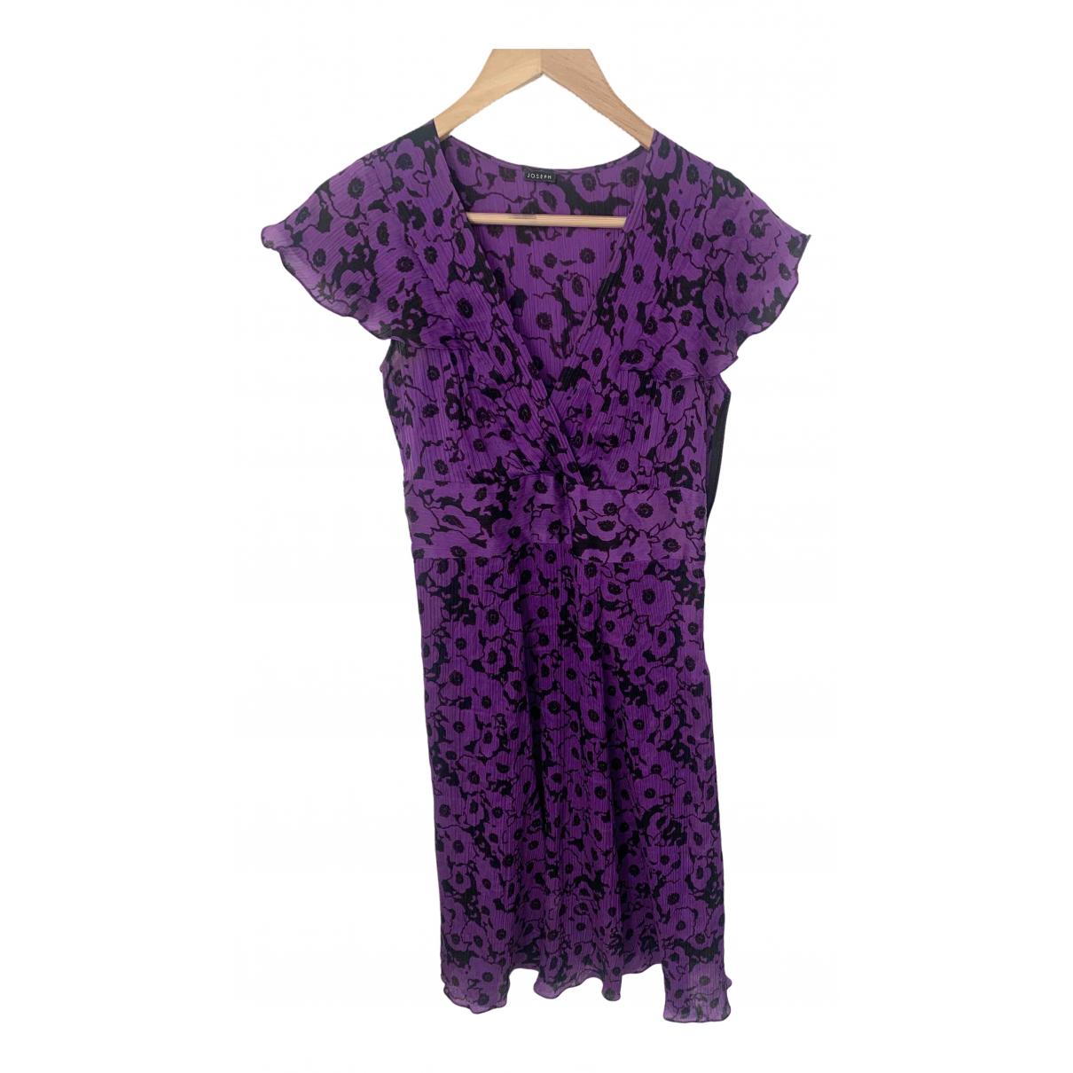 Joseph \N Kleid in  Lila Seide