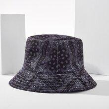 Paisley Pattern Bucket Hat