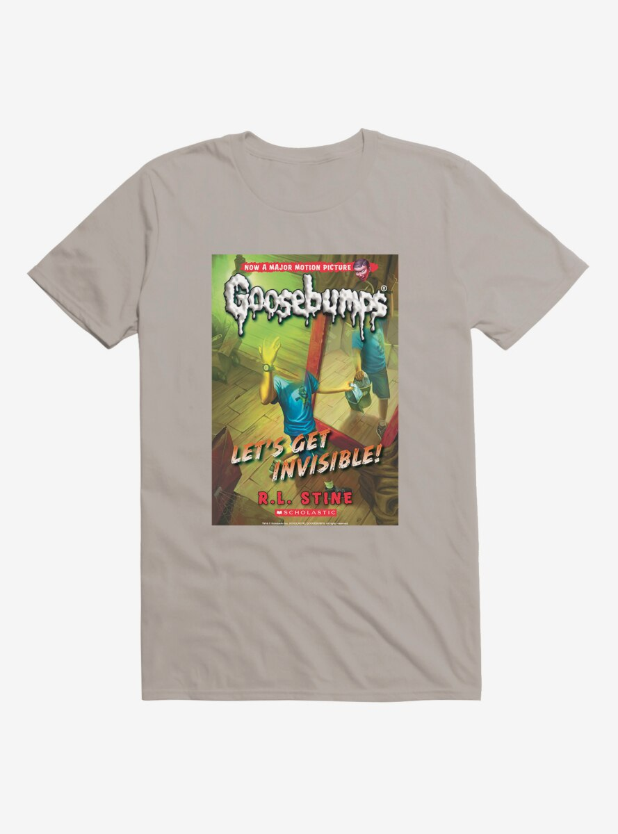 Goosebumps Let's Get Invisible Book T-Shirt
