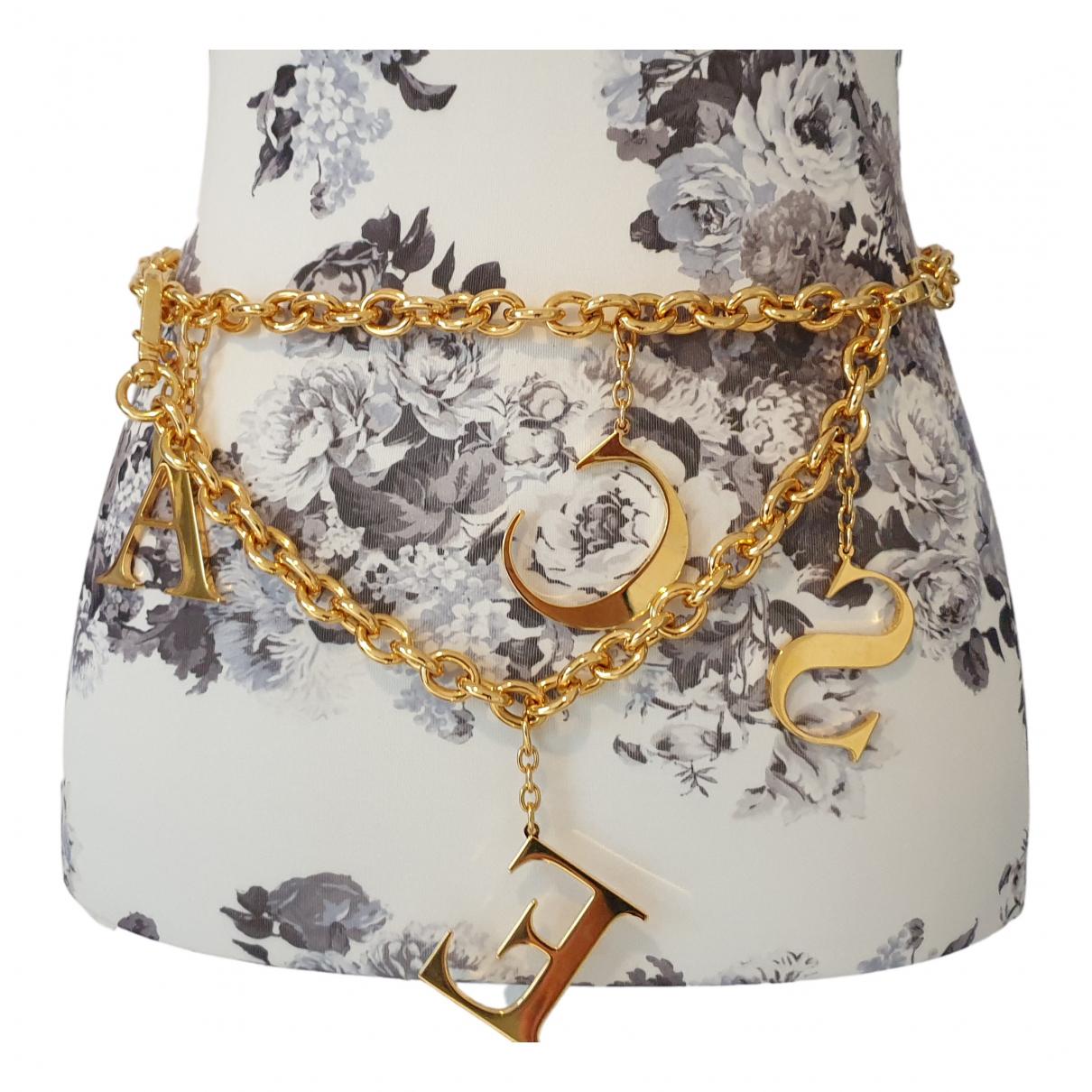Escada \N Gold belt for Women S International