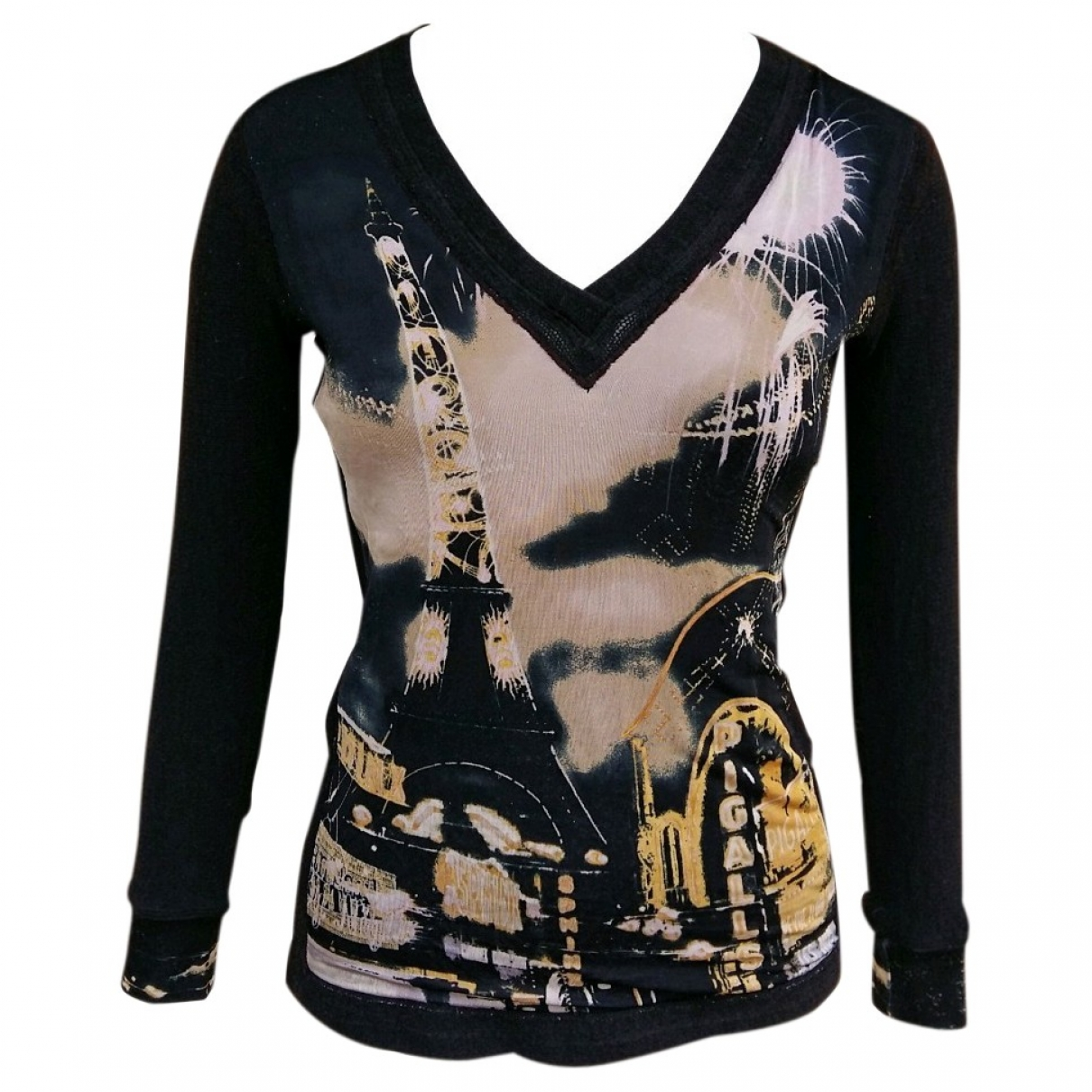 Jean Paul Gaultier \N Black Wool  top for Women S International