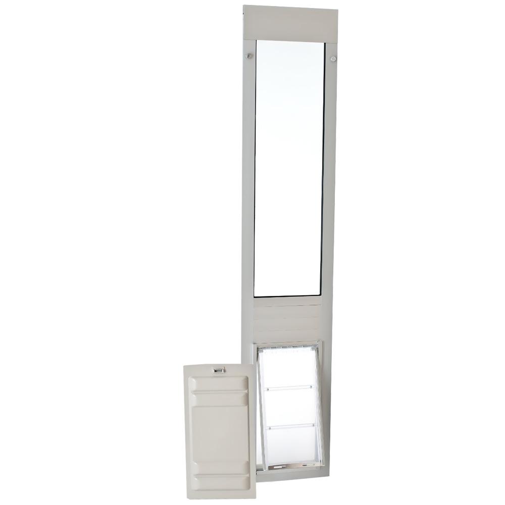 Endura Flap Pet Door - Thermo Panel 3e Satin Frame - Medium (74.75