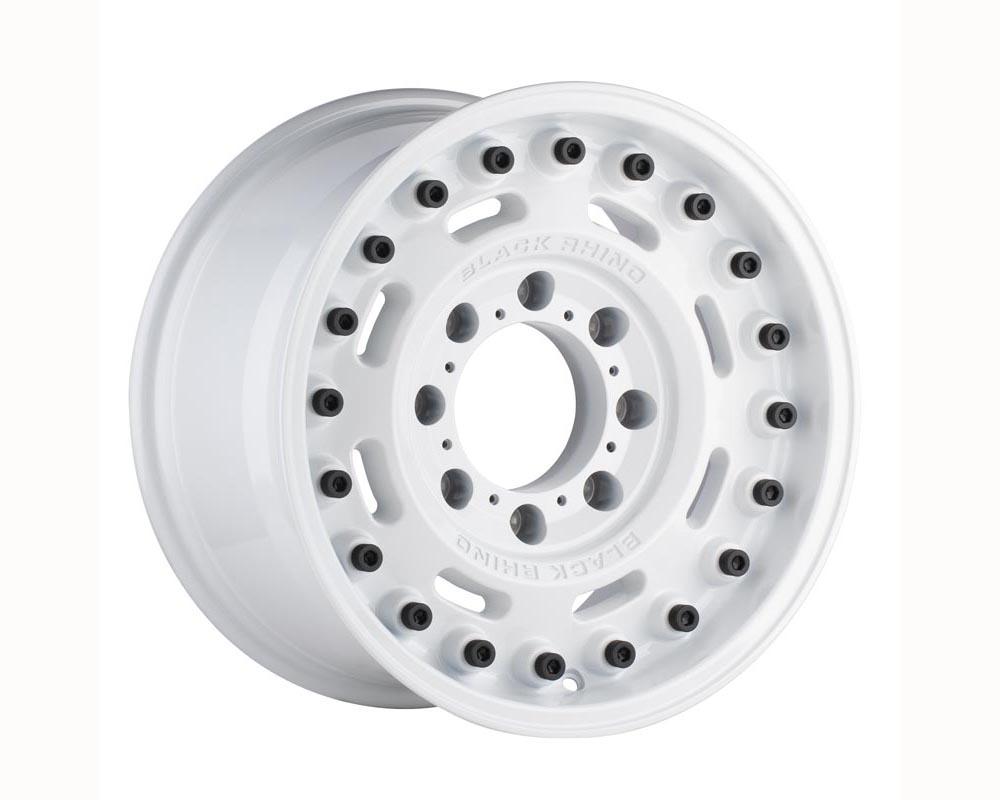 Black Rhino Axle Wheel 20x9.5 5x130 25 Gloss White
