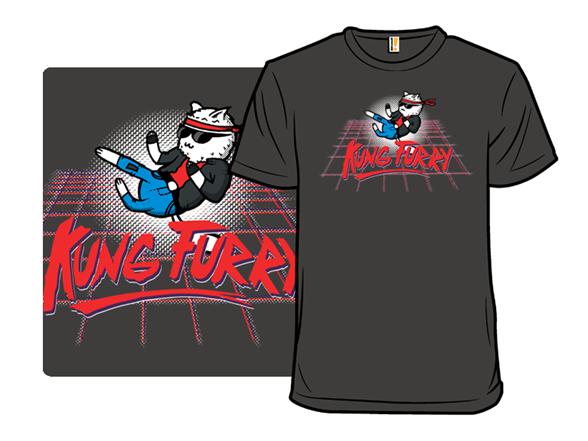 Kung Furry T Shirt