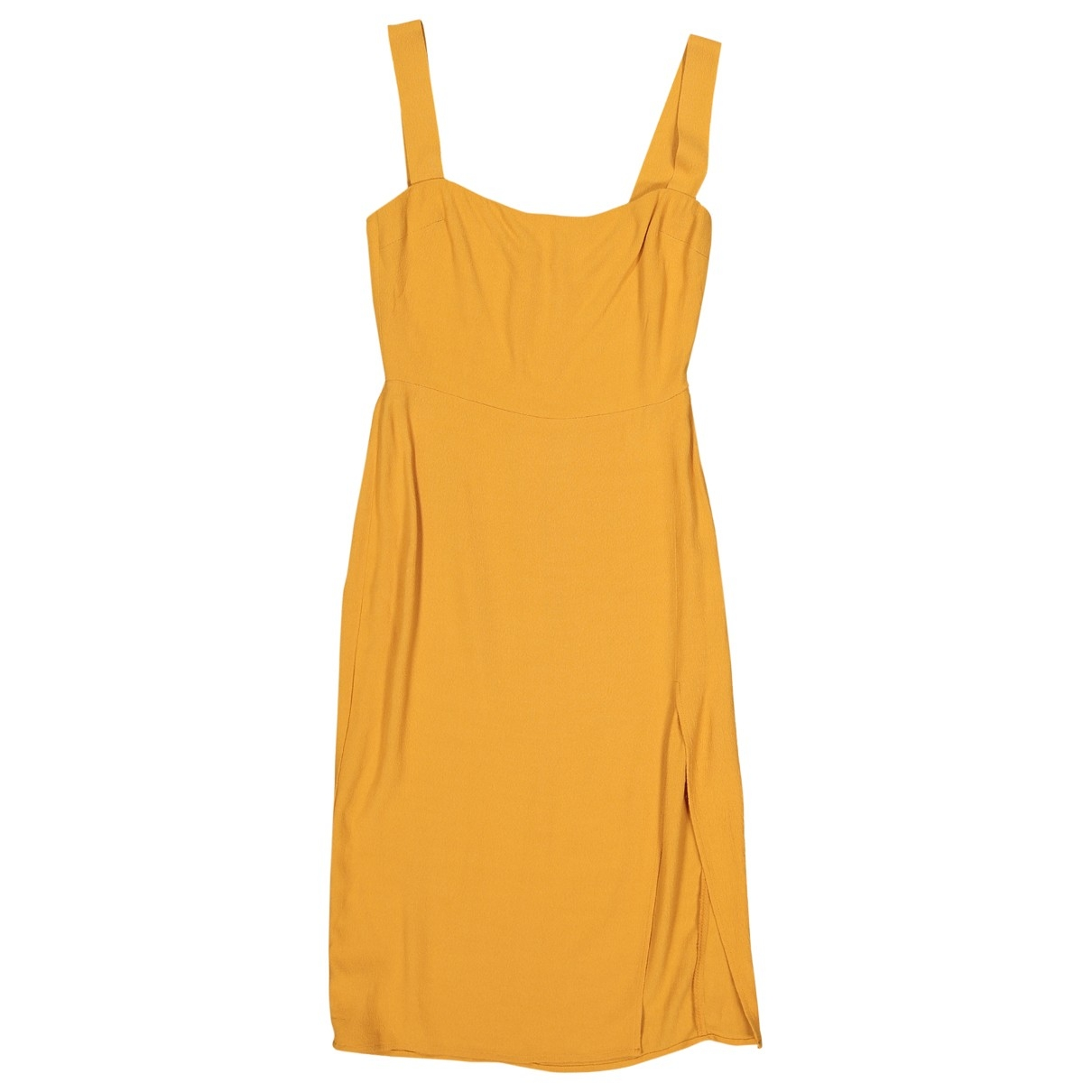Reformation \N Yellow dress for Women 2 US