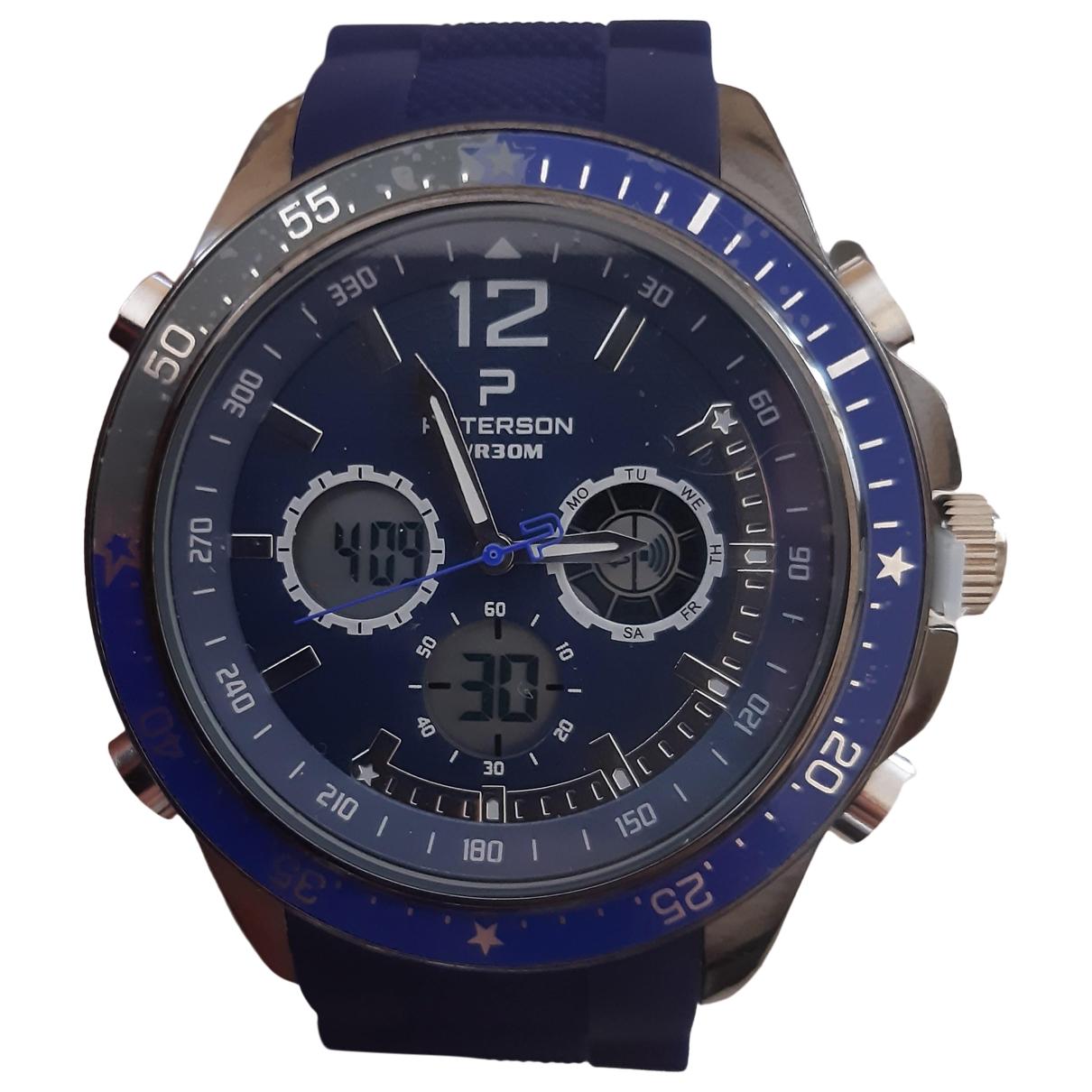 Paterson \N Uhr in  Blau Stahl