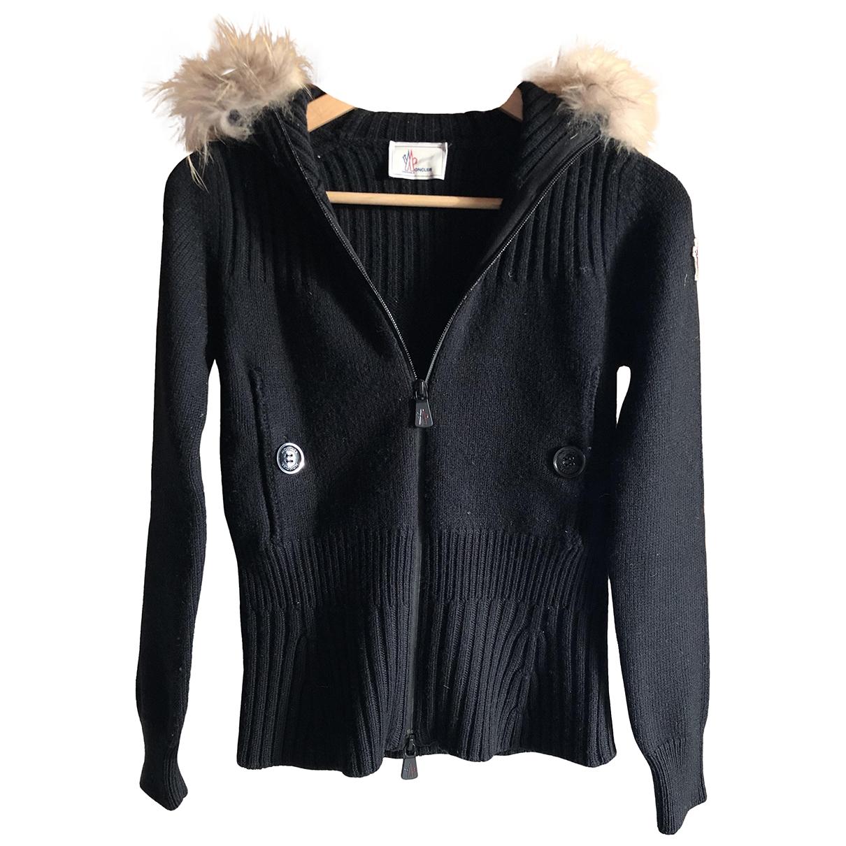 Moncler \N Black Wool Knitwear for Women S International