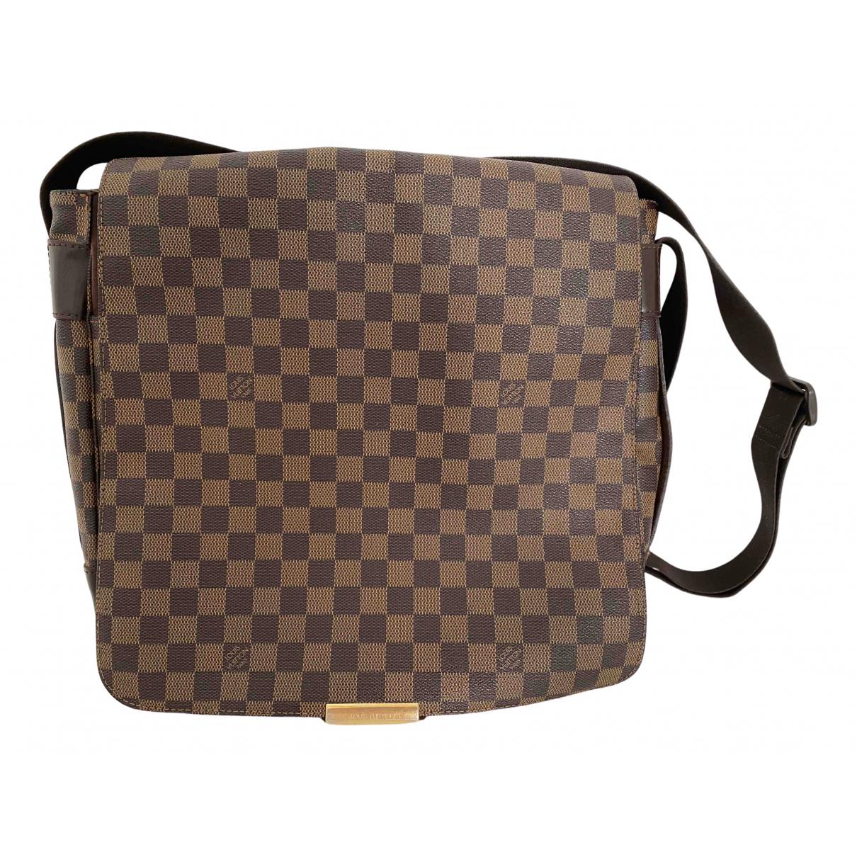 Louis Vuitton Bastille Brown Cloth bag for Men \N