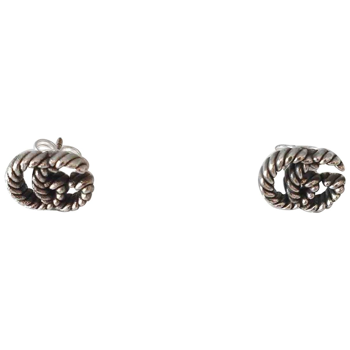 Gucci - Boucles doreilles   pour femme en argent - argente