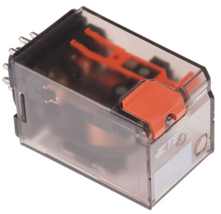 TE Connectivity , 12V dc Coil Non-Latching Relay 3PDT, 10A Switching Current Plug In