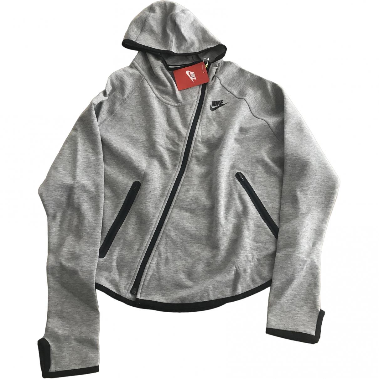 Nike \N Grey Cotton jacket for Women M International