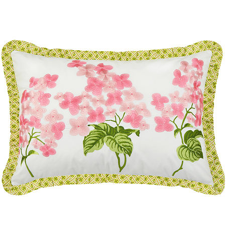 Waverly Emma's Garden Oblong Decorative Pillow, One Size , Multiple Colors