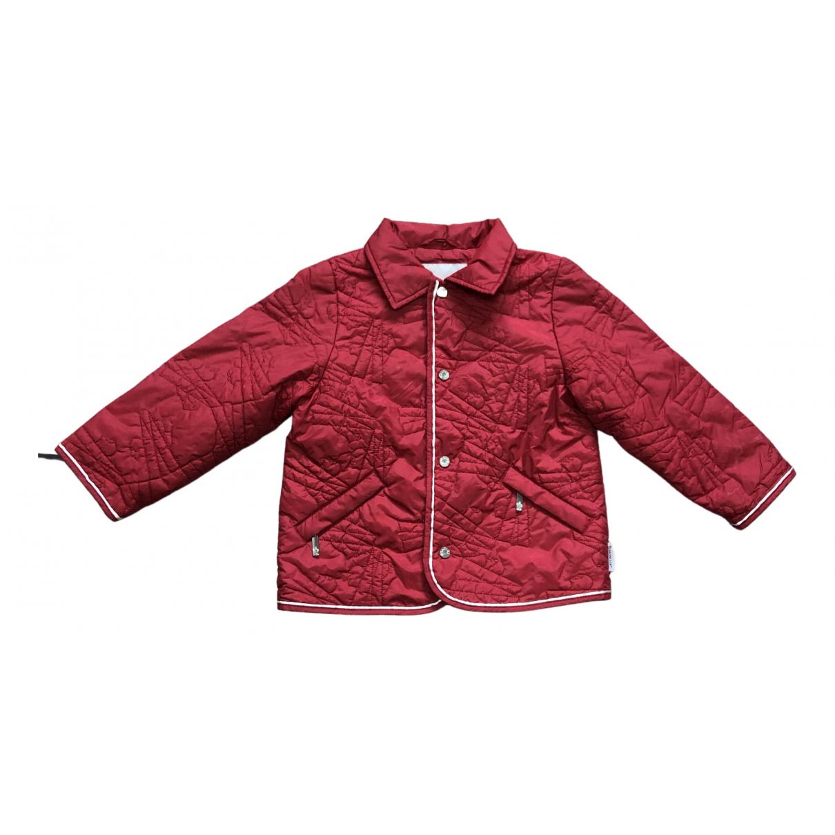 Moncler - Blousons.Manteaux   pour enfant - rouge