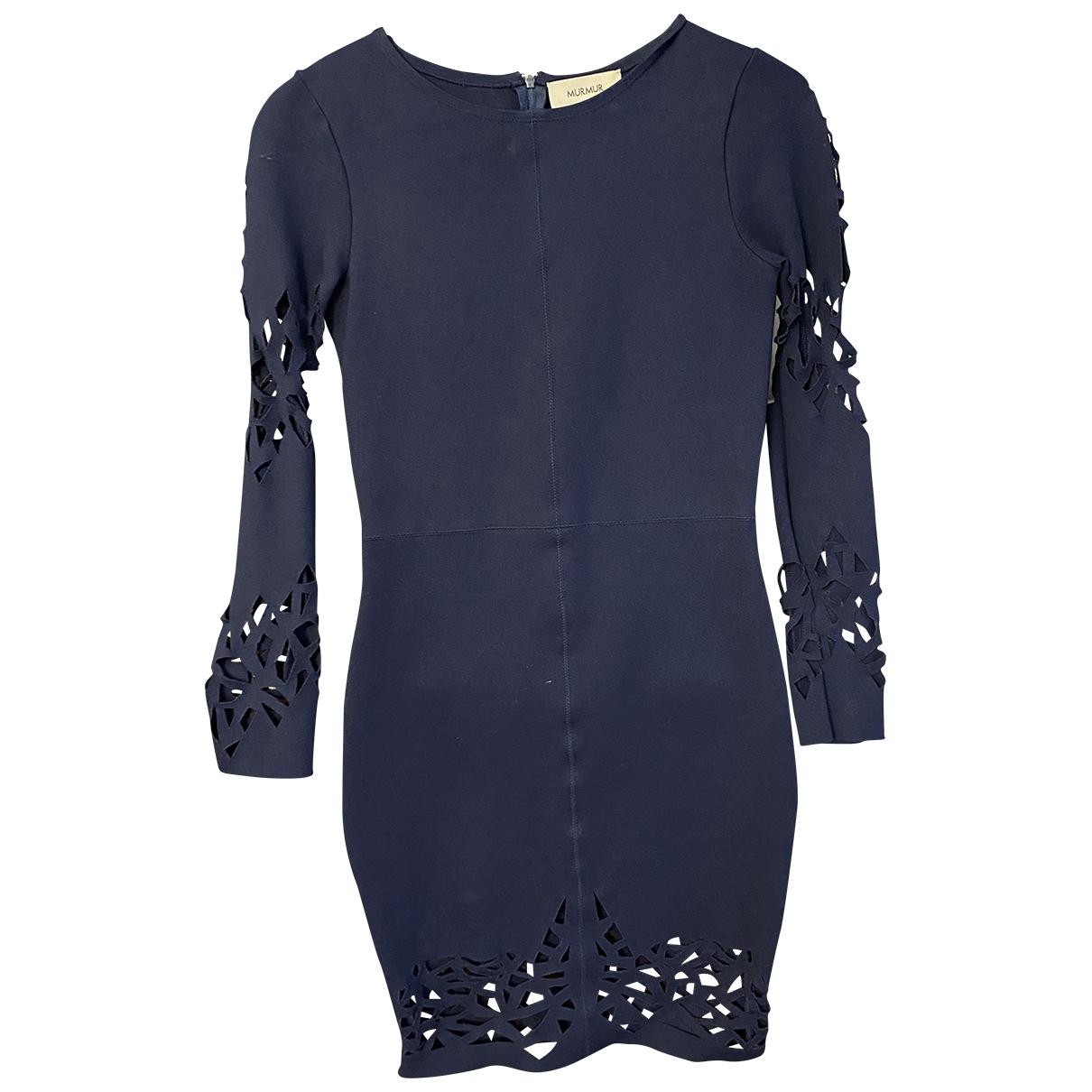 Murmur \N Kleid in  Blau Viskose