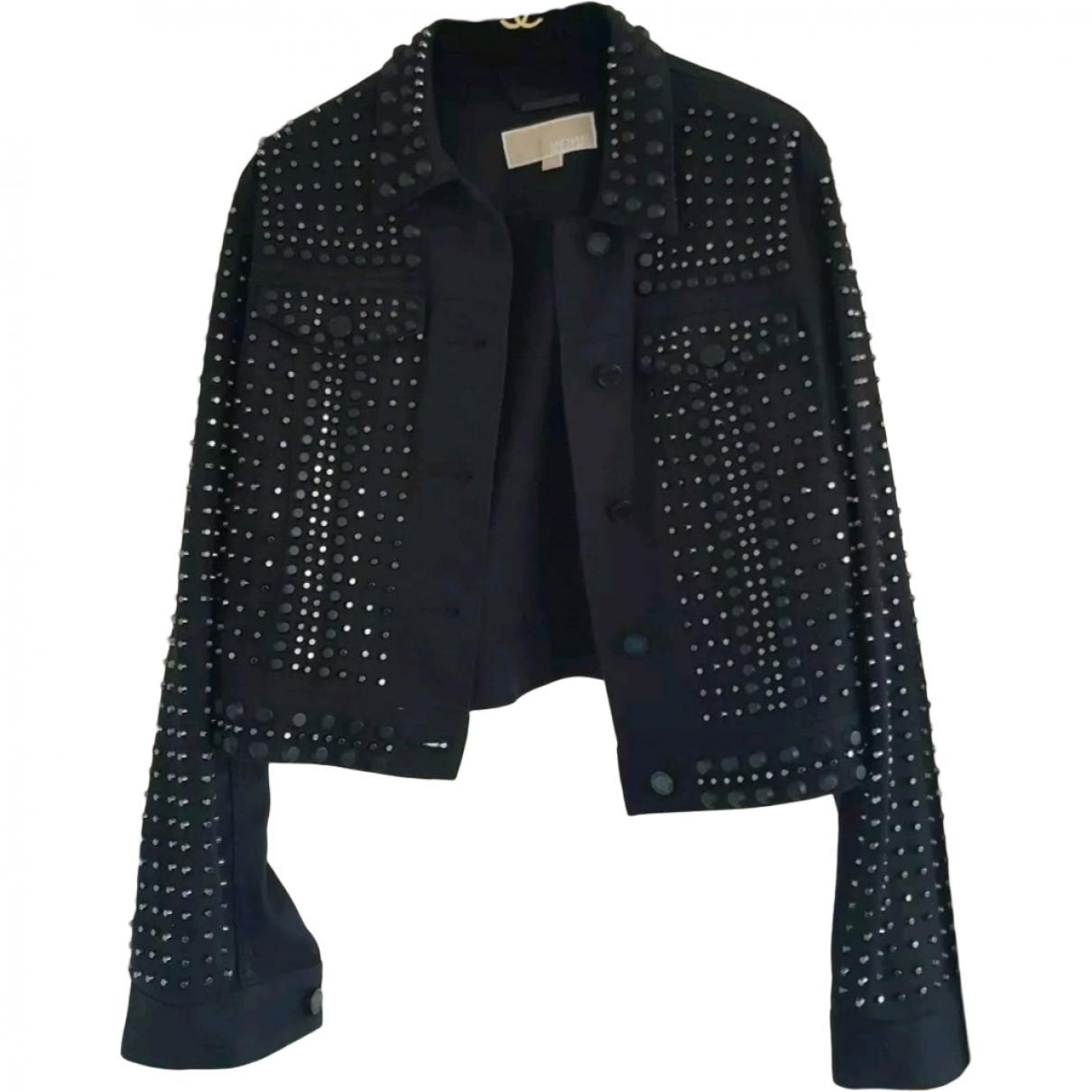 Michael Kors \N Black Denim - Jeans jacket for Women M International