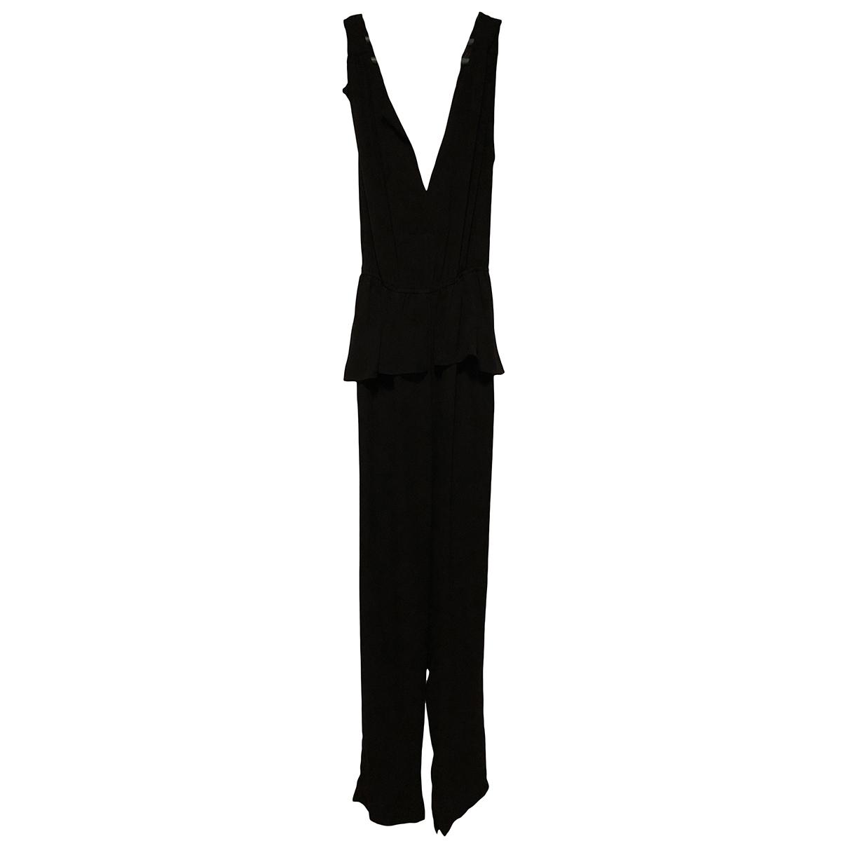 Bcbg Max Azria \N Jumpsuit in  Schwarz Polyester