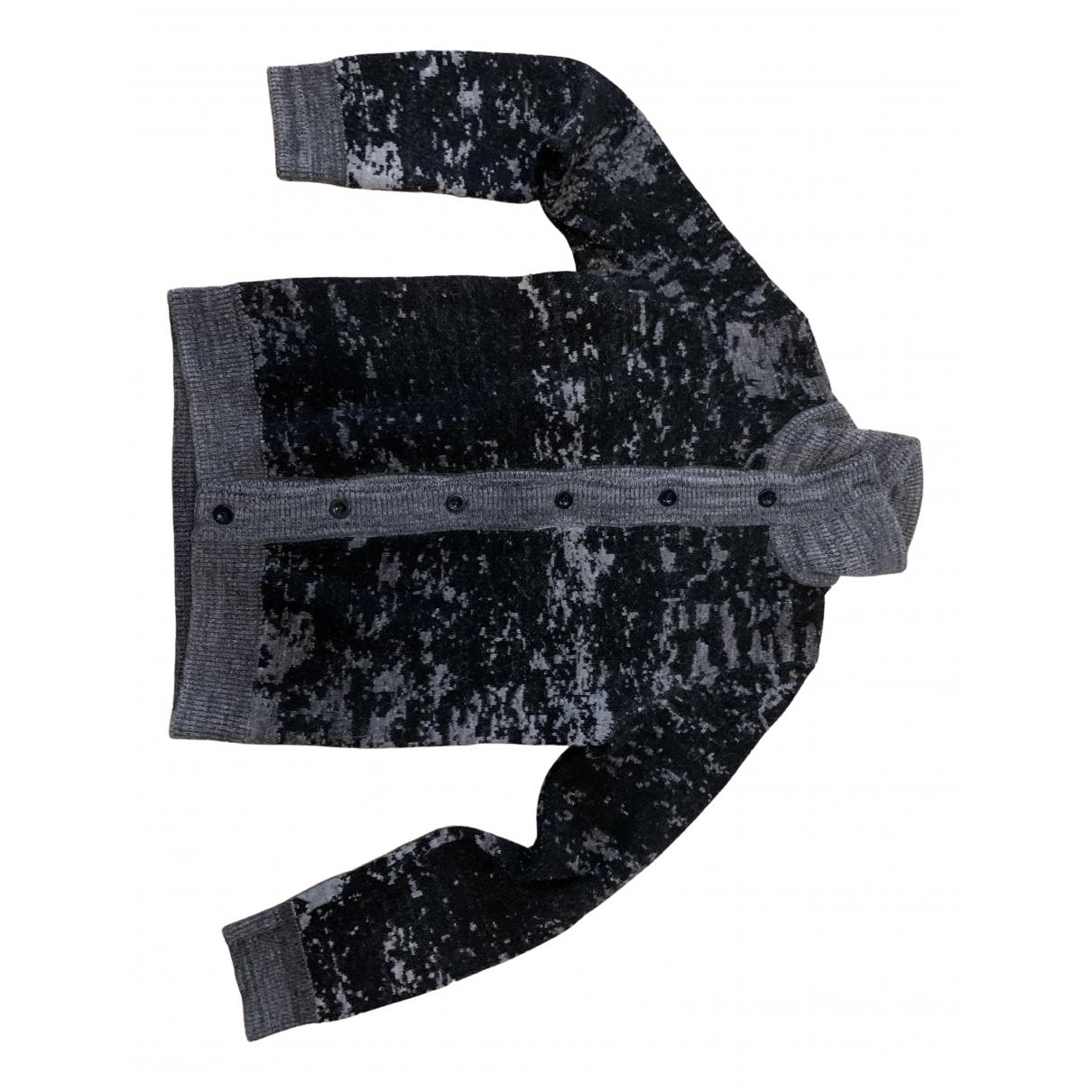Maison Martin Margiela \N Pullover.Westen.Sweatshirts  in  Schwarz Polyester