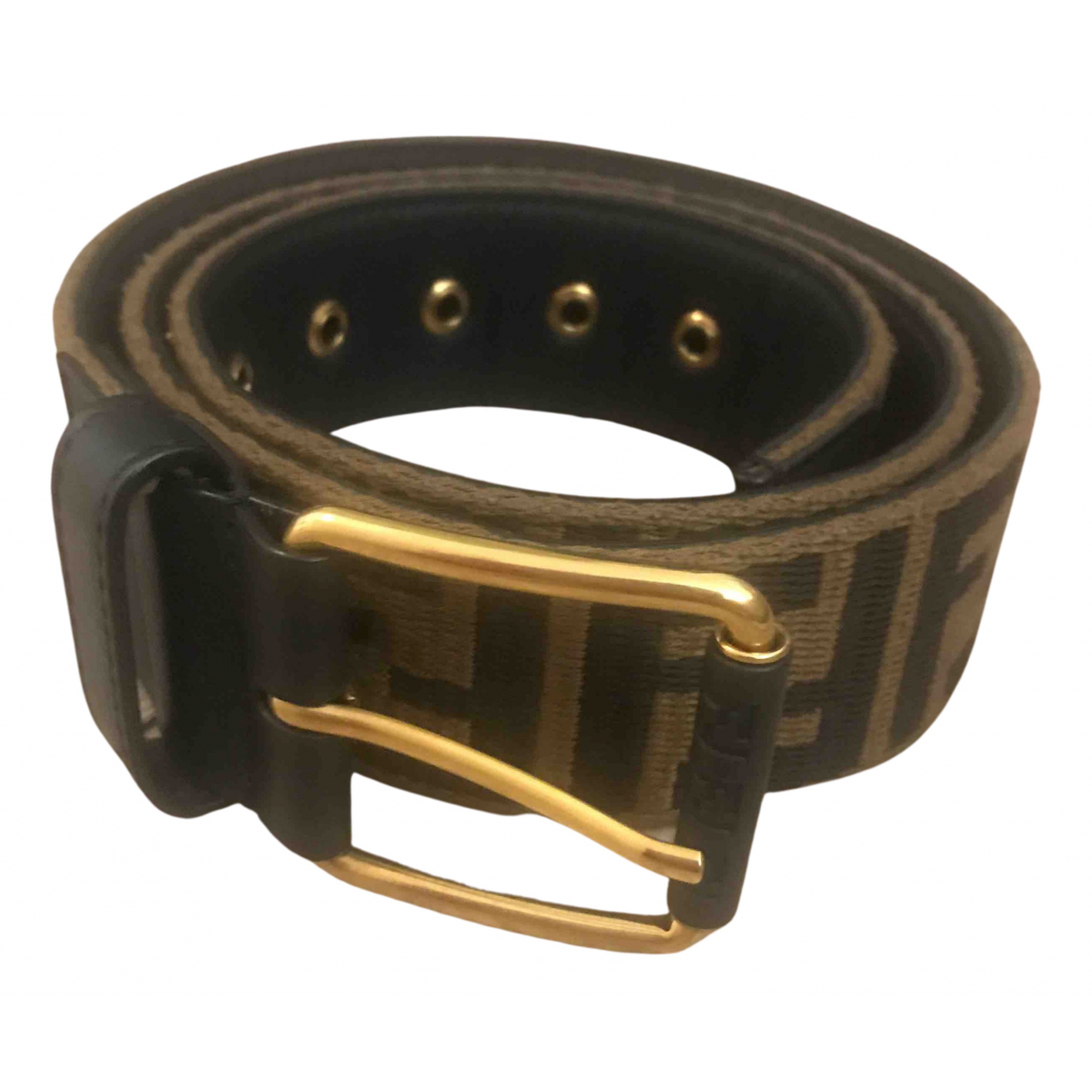 Fendi N Beige Cloth belt for Women 95 cm