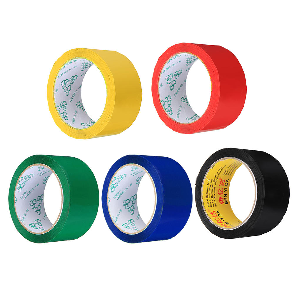 47mmx60m Red Blue Green Yellow Black Color Adhesive Tape for RC Airplane Painting