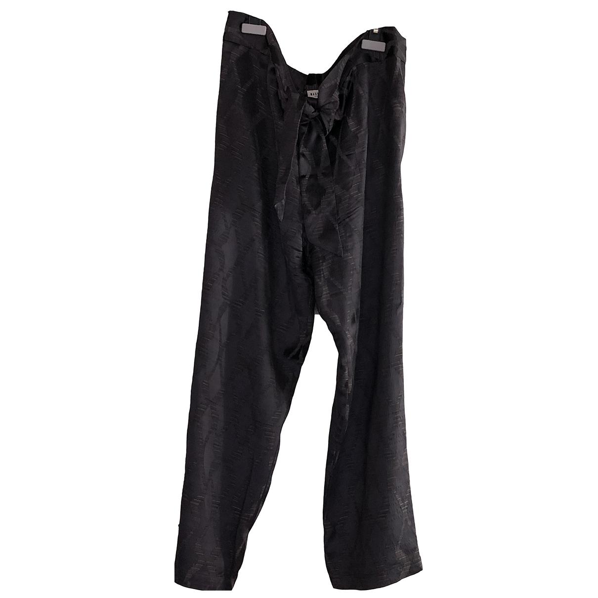 Masscob - Pantalon   pour femme - noir