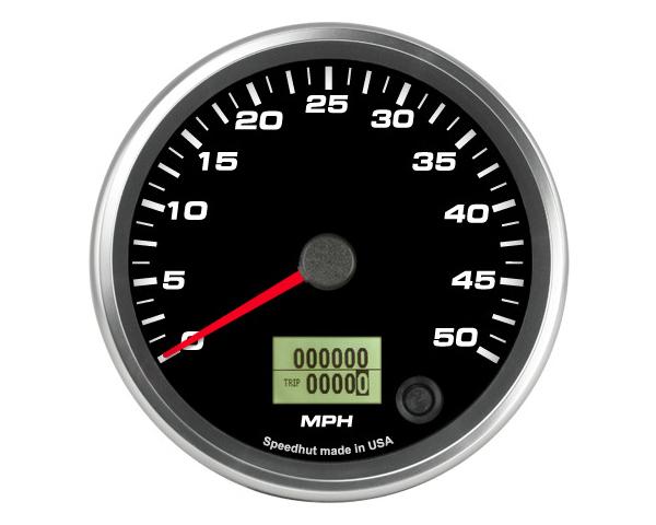 SpeedHut GR4-SPEEDO-20 Speedometer Gauge 50mph Programmable