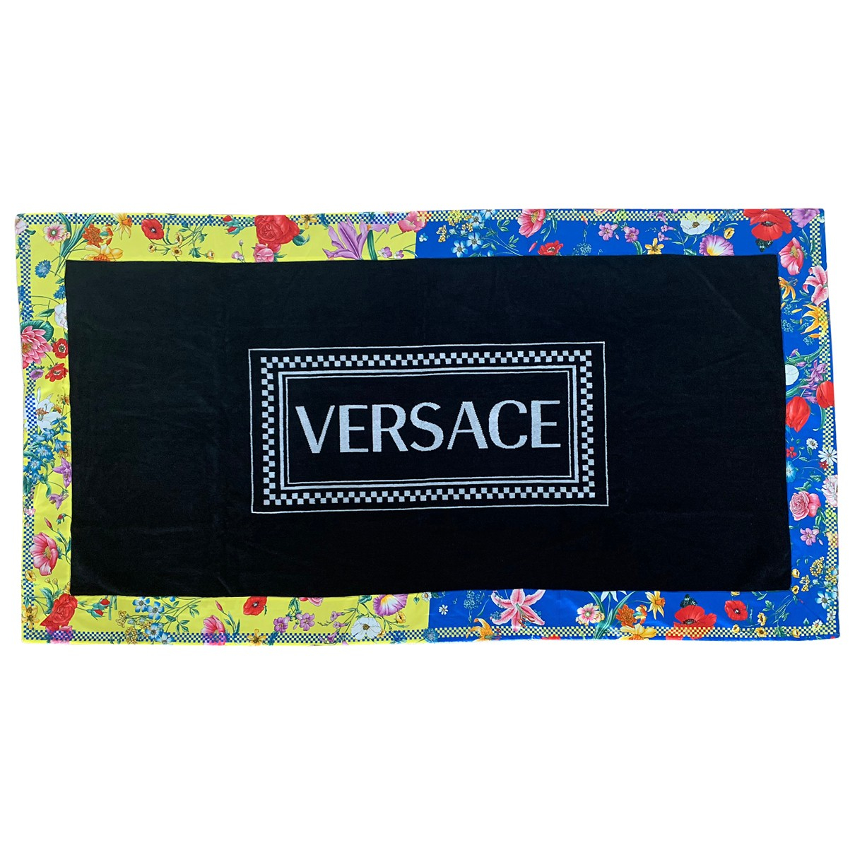 Versace \N Heimtextilien in  Schwarz Baumwolle