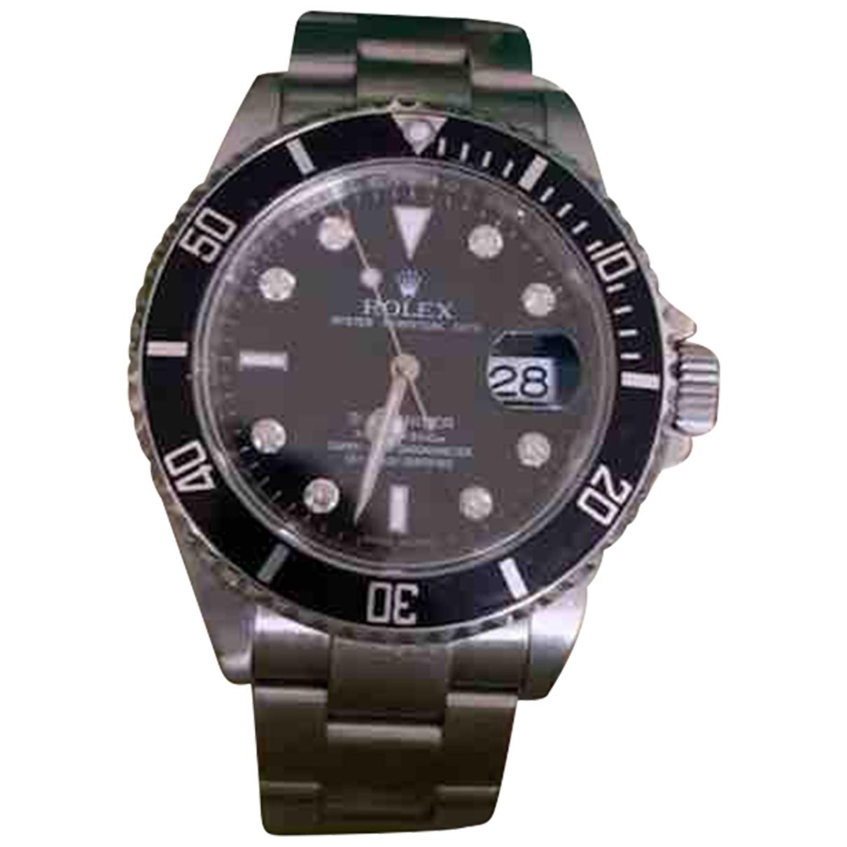 Rolex Submariner Uhr in  Silber Stahl