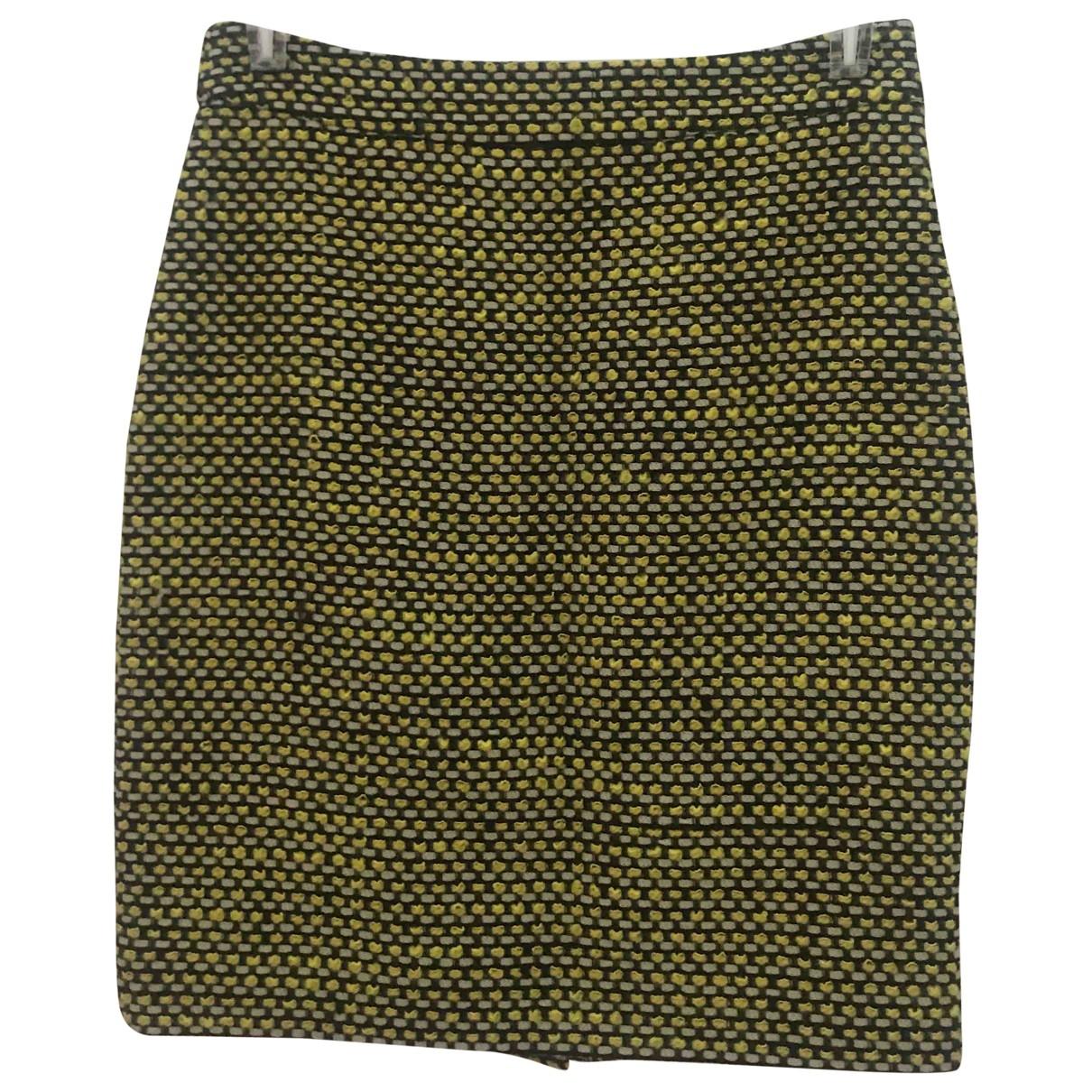 Kate Spade - Jupe   pour femme en laine - jaune