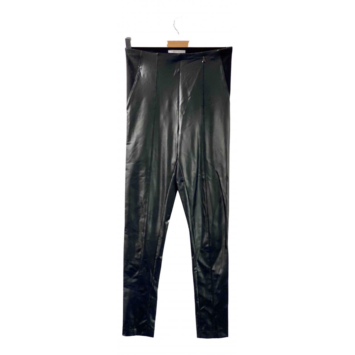 Patrizia Pepe \N Black Trousers for Women 0 0-5