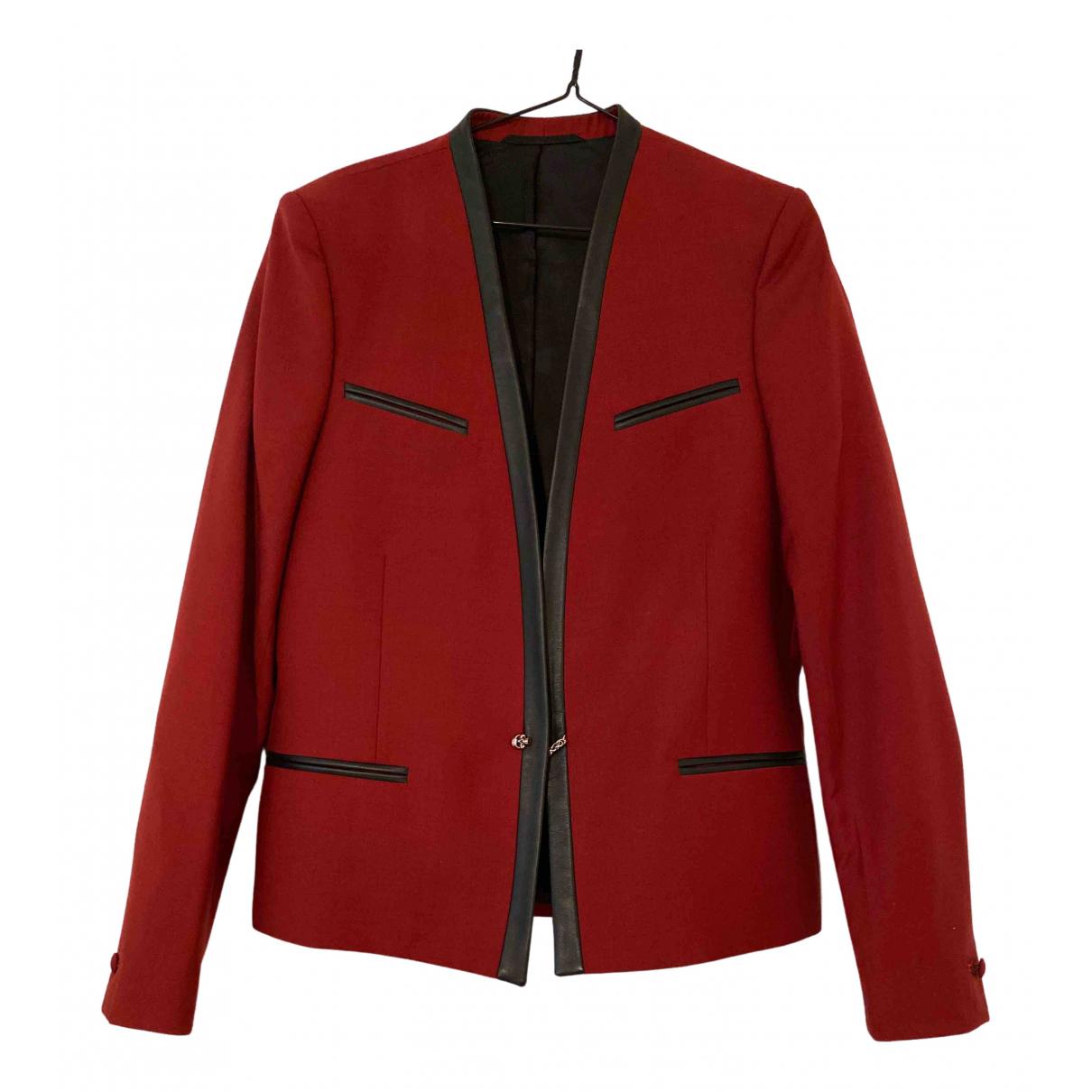 The Kooples \N Red Wool jacket  for Men 46 FR