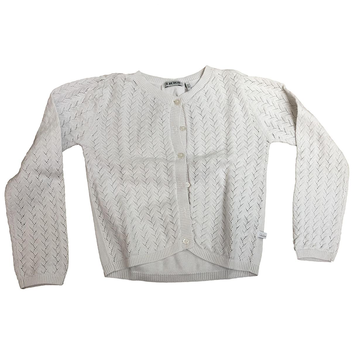 Ikks - Pull   pour enfant en coton - blanc