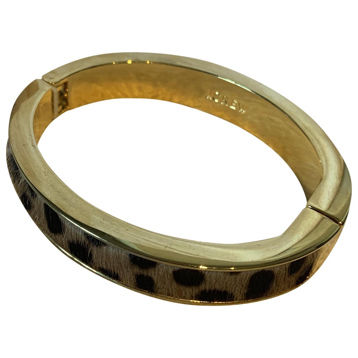 J.crew - Bracelet   pour femme en metal - dore