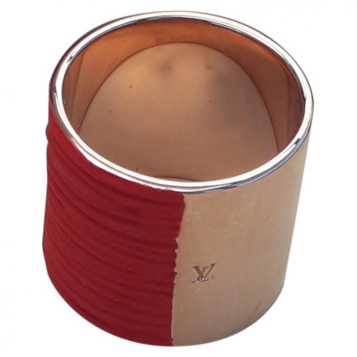 Louis Vuitton \N Ring in  Rot Leder