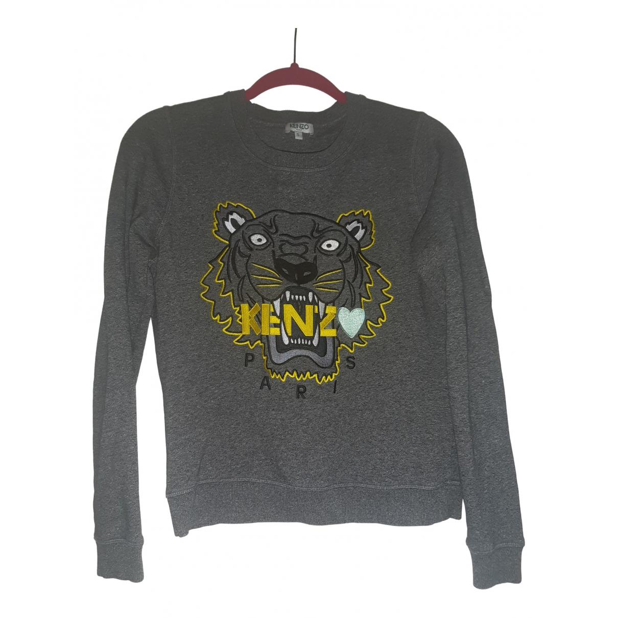 Kenzo \N Grey Wool Knitwear for Women 8 UK