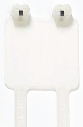 Thomas & Betts , Ty-Rap Series Natural Nylon Identification Cable Tie, 184.15mm x 4.83 mm