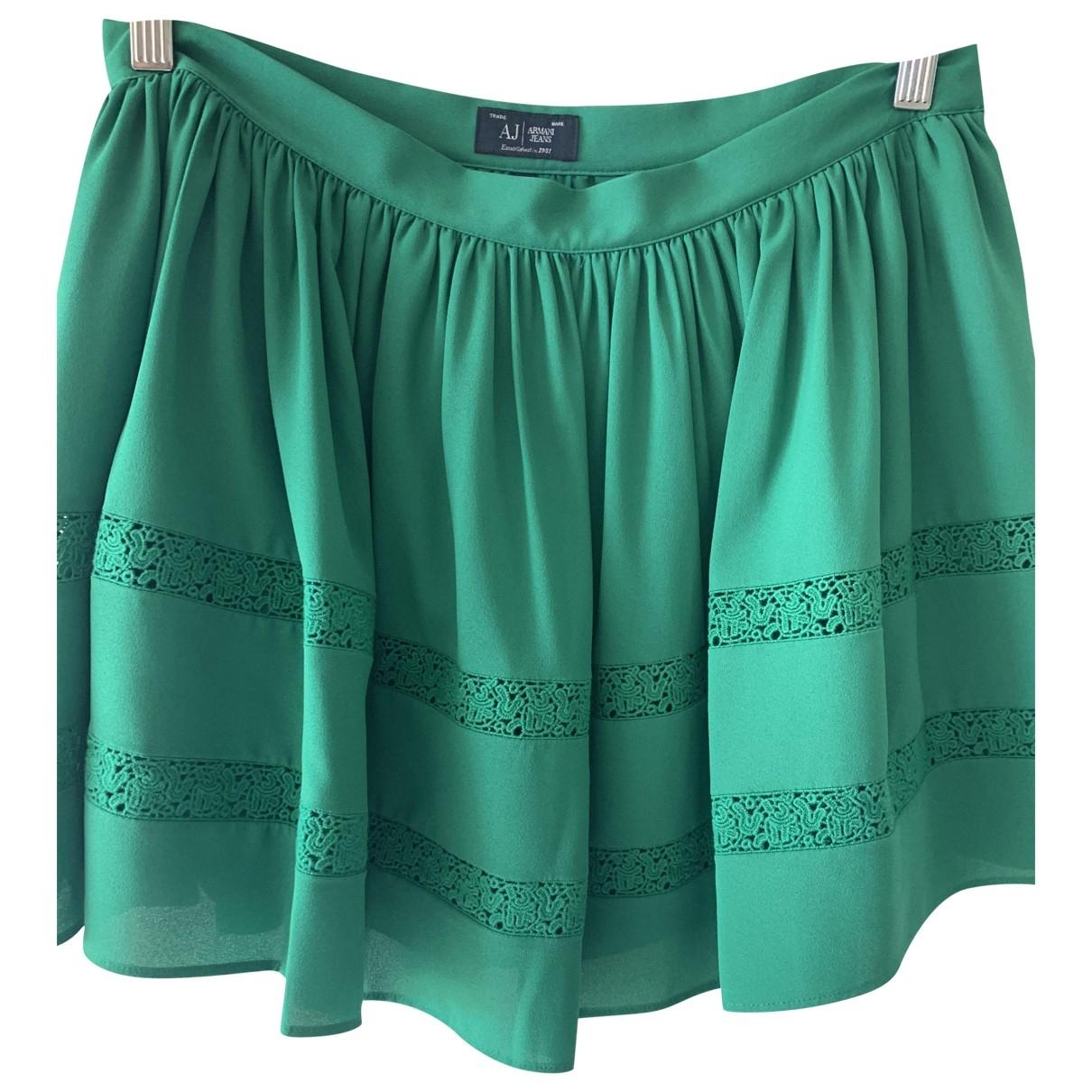 Armani Jeans \N Rocke in  Gruen Polyester