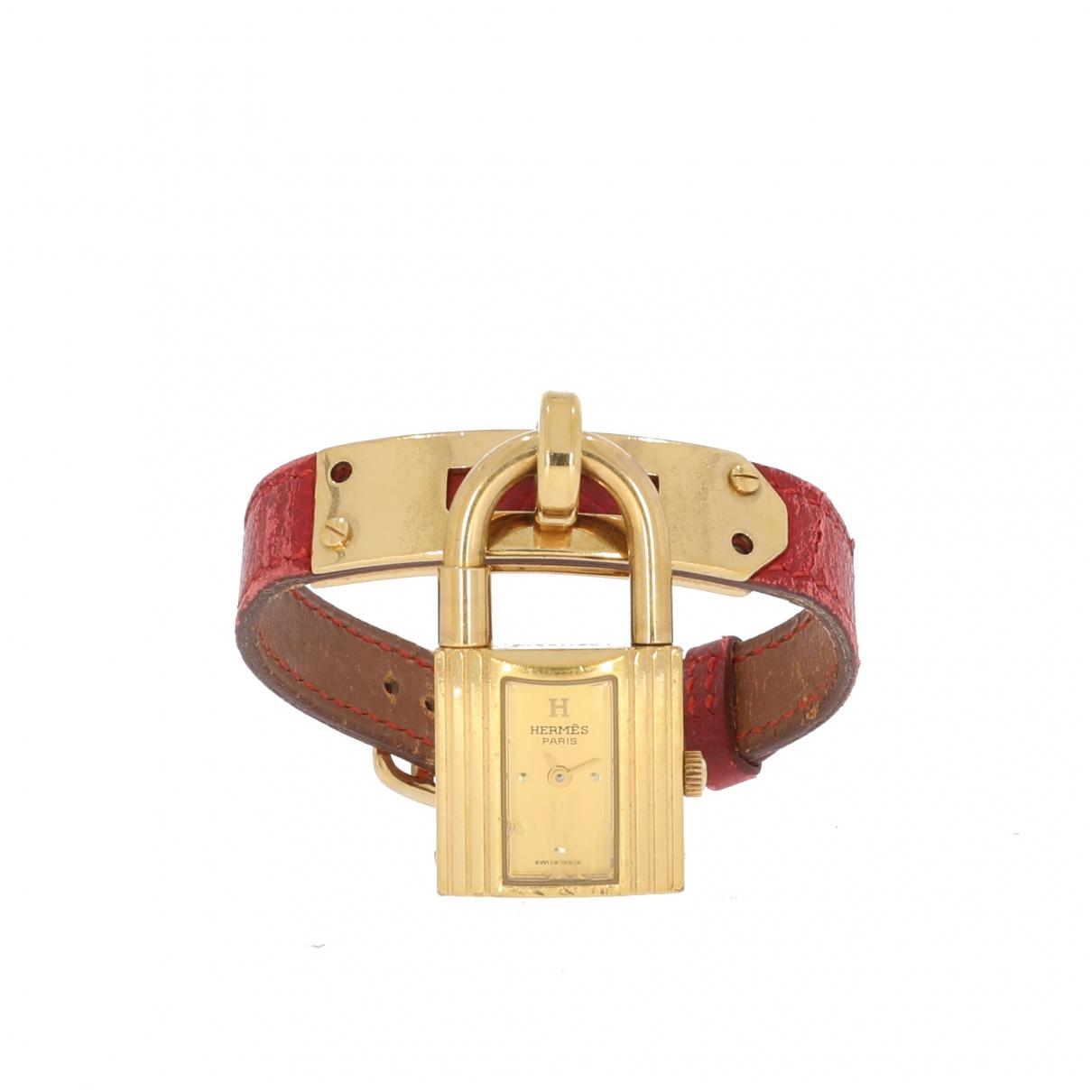 Hermès Kelly Pink watch for Women \N