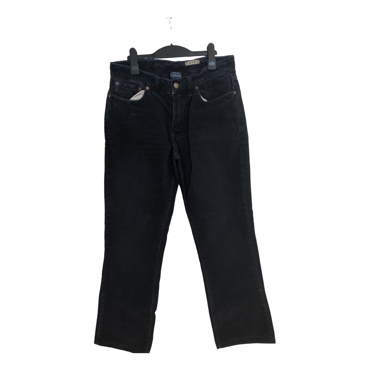 Polo Ralph Lauren \N Navy Cotton Trousers for Men 32 UK - US