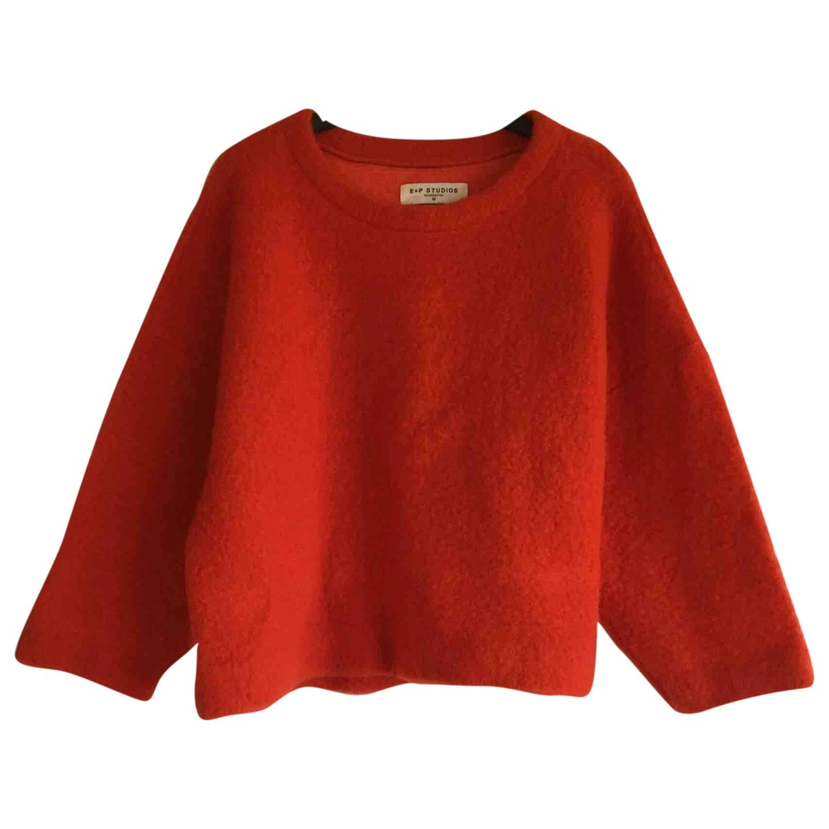 Emile & Ida - Pull   pour femme en laine - orange