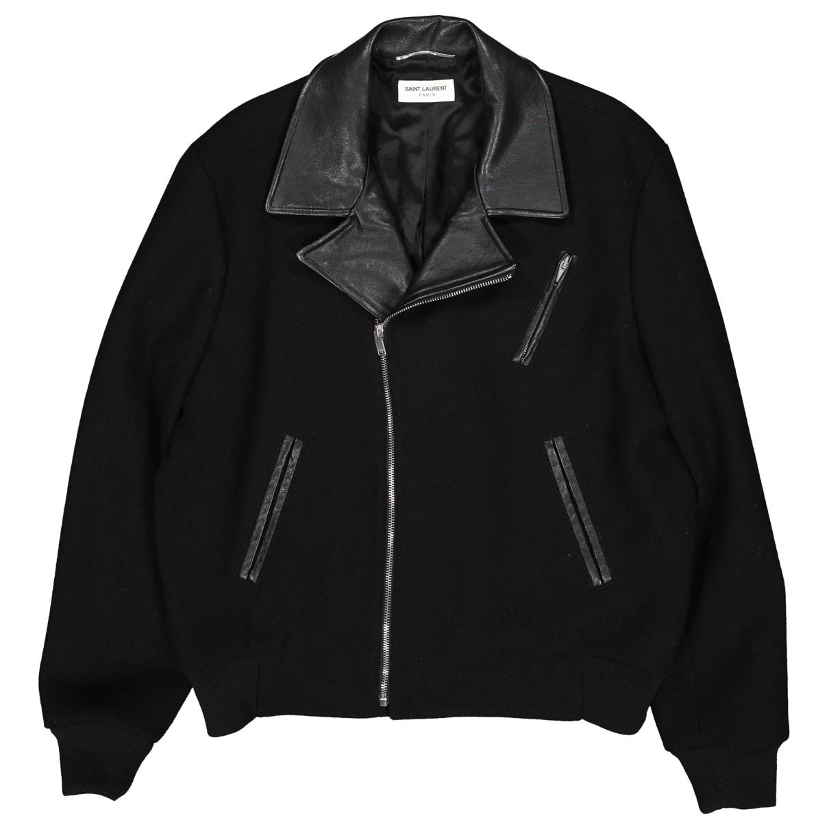 Saint Laurent \N Black Wool jacket  for Men 50-52 IT