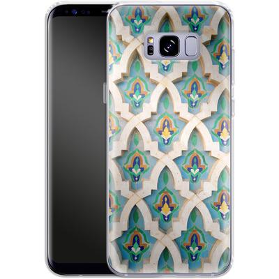 Samsung Galaxy S8 Plus Silikon Handyhuelle - Moroccan Mosaic von Omid Scheybani