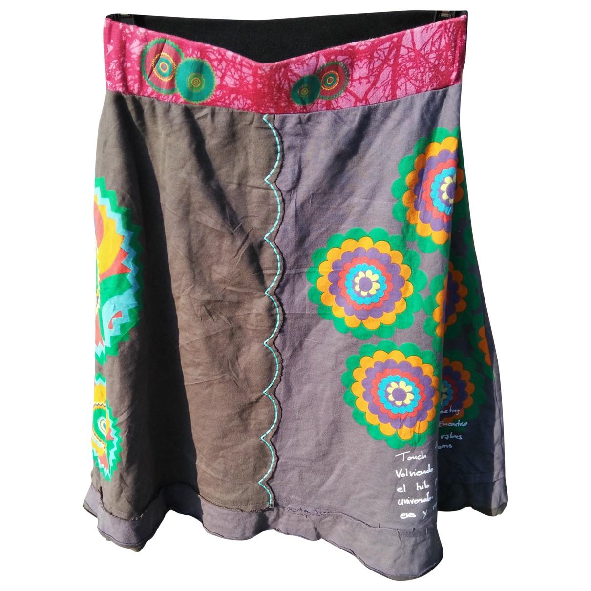 Falda midi Desigual