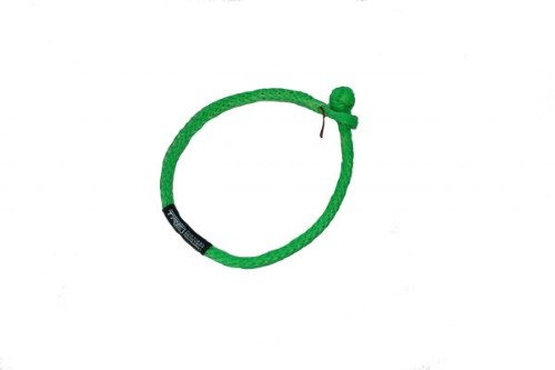 ATV Soft Shackles Lime Green 16,000 lb. Capacity TRE-Tactical Recovery Equipment