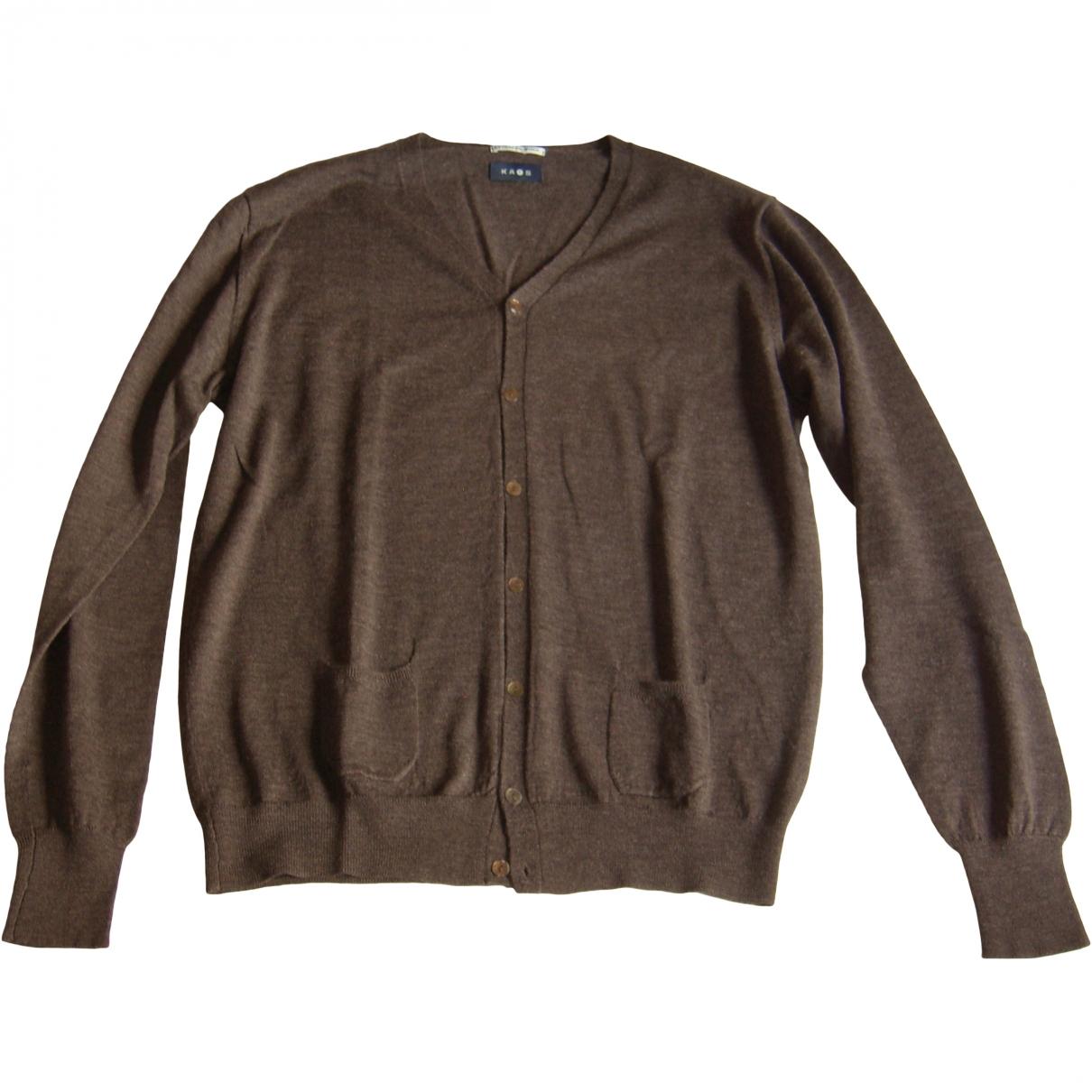 - Pulls.Gilets.Sweats   pour homme en laine - marron