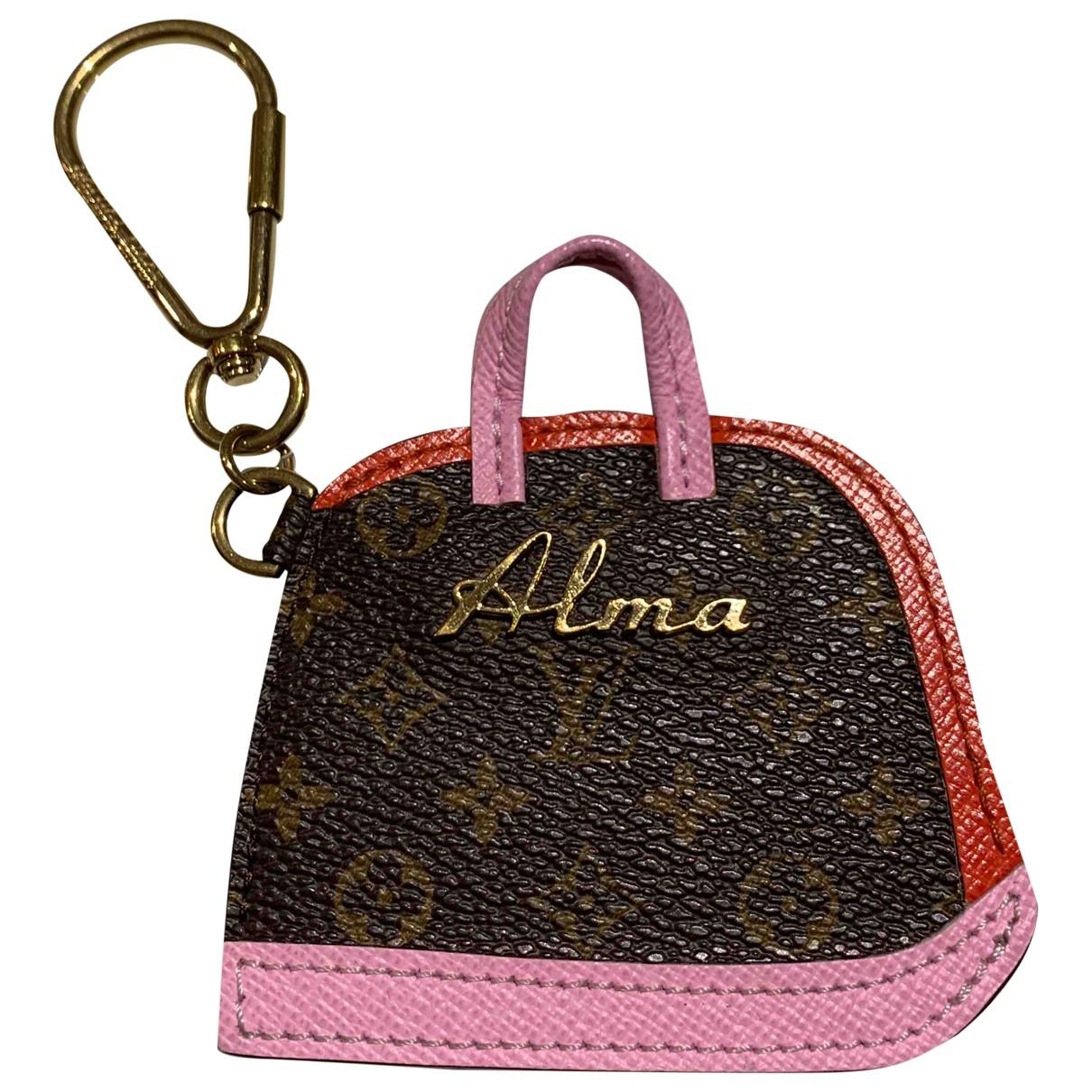 Louis Vuitton - Bijoux de sac   pour femme en cuir - multicolore