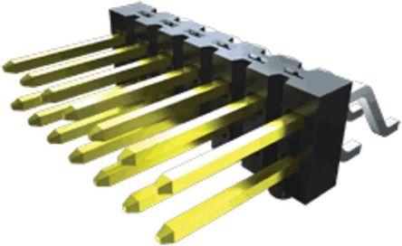 Samtec , TSM, 18 Way, 1 Row, Vertical PCB Header (12)