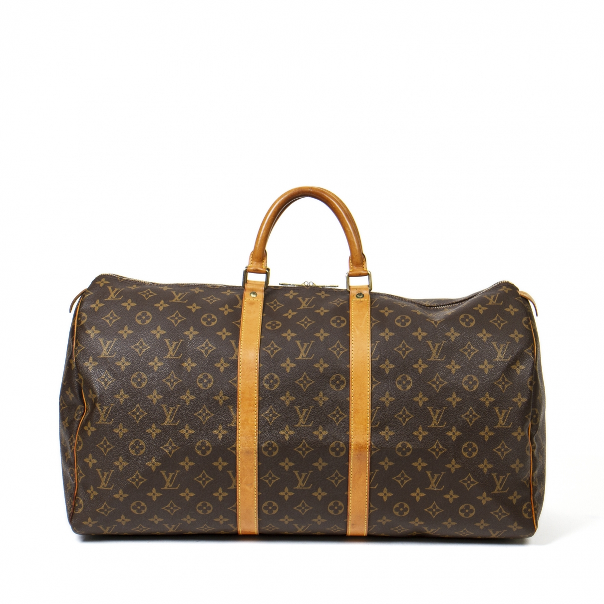 Louis Vuitton Keepall Brown Leather Travel bag for Women \N