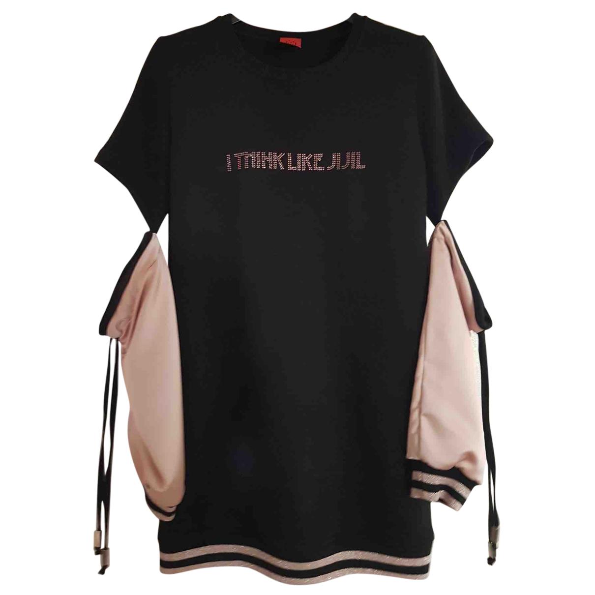 Jijil - Robe    pour enfant en coton - noir